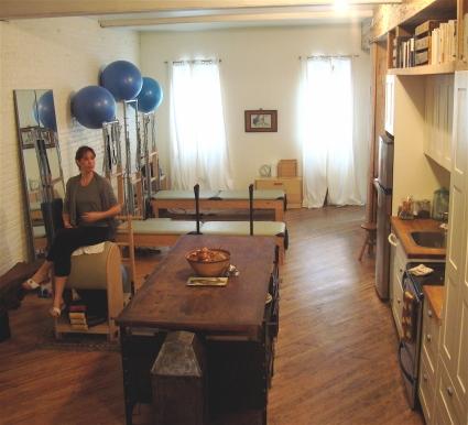 Jessie Zalla's Home Studio in Brooklyn