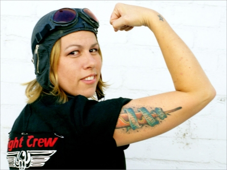 "Derby Girl Jennifer Barbee (via <a href=""http://www.npr.org/templates/story/story.php?storyId=129536182#129535696"">NPR</a>)"