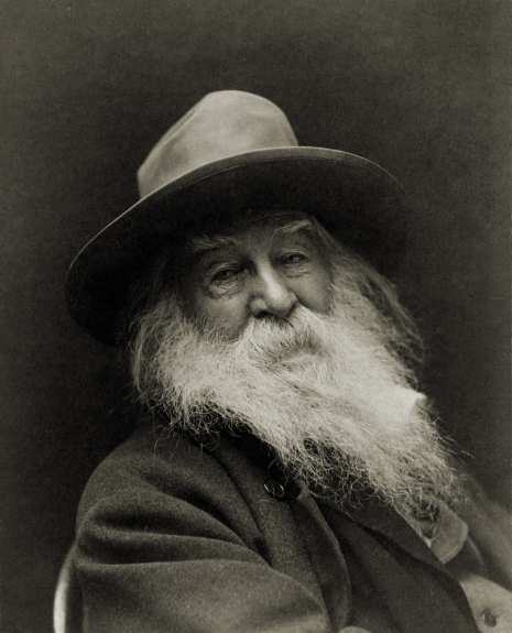 Walt Whitman by photographer George C. Cox, New York, 1887