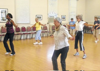 "Zumba Gold (via <a href=""http://www.mtairynews.com"">mtairynews.com</a>)"