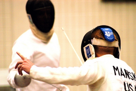 "Fencing! (Via <a href=""http://www.flickr.com/photos/familymwr/4930582741"">familymwr</a>.)"
