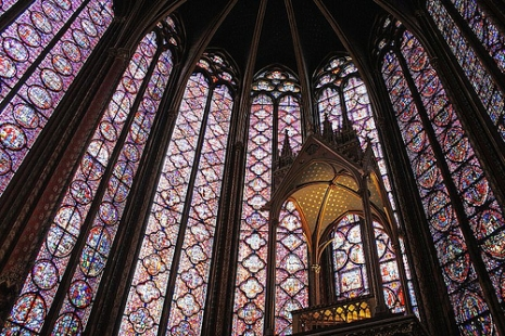 "Le Sainte Chapelle (Via <a href=""http://www.flickr.com/photos/ru_boff/3355508277"">Dimitry B.</a>.)"